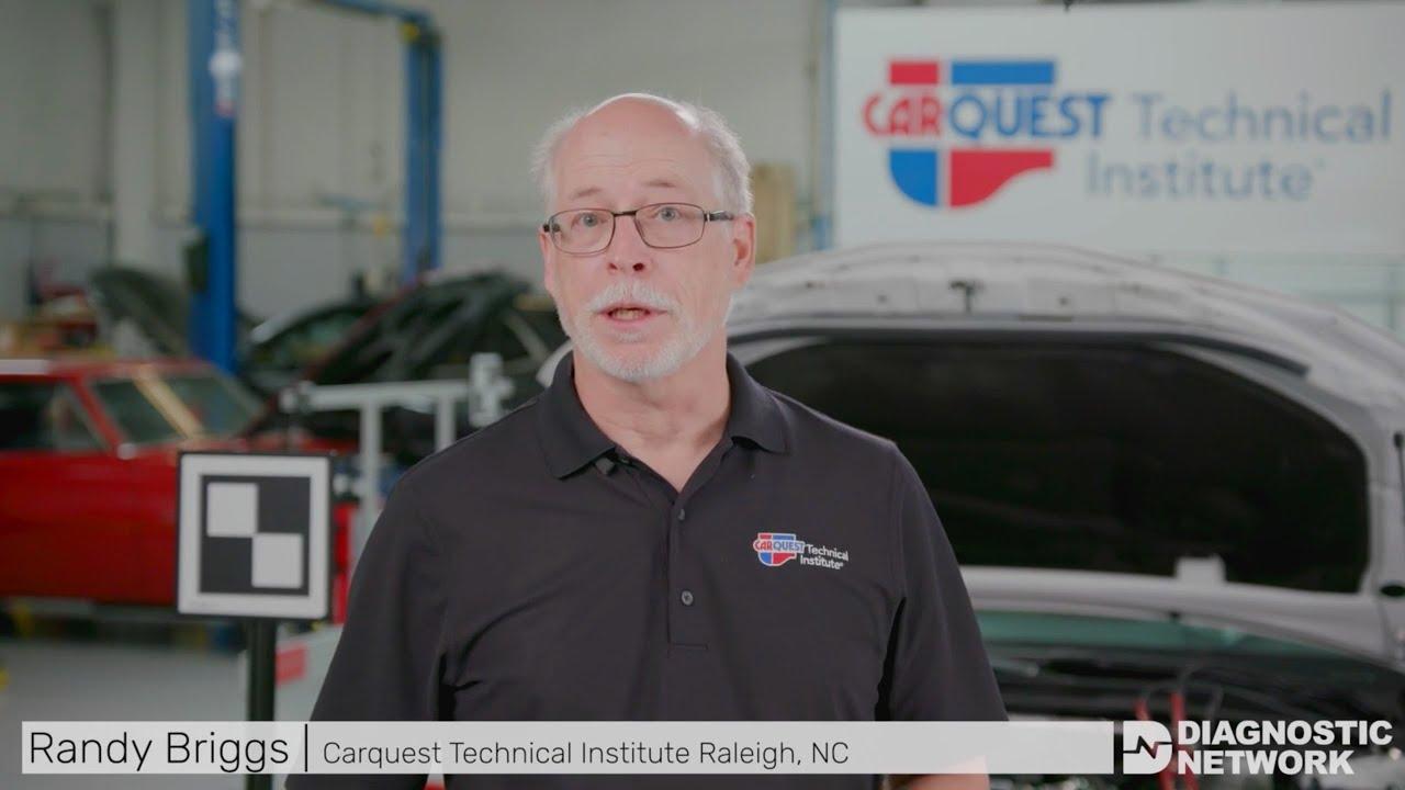 2018 Toyota Camry Camera Calibration — Advanced Driver Assist Systems (ADAS)