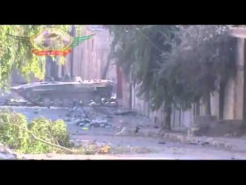 Syrian BMP-1 Destroyed by Rebels