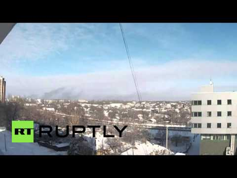 Ukraine: 'Leave Donetsk airport or die' Kiev troops get ultimatum from DNR