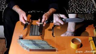 заточка ножей алмазными брусками с АЛИЭКСПРЕСС. Мнение ЭКСПЕРТА