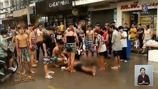 สงกรานต์เลือด-แก๊งโจ๋โคราชยกพวกตีกันกลางถนนเจ็บปางตาย1-โจ๋ศรีสะเกษโดนยิงดับปมเหตุแค่ประแป้ง