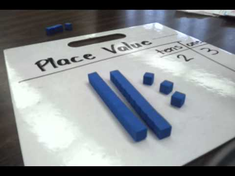 Image result for place value chips and peas