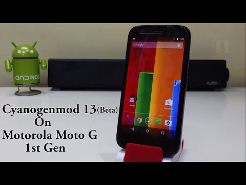 Install Android 6.0 Marshmallow (CM13 Beta) On Moto G 1st Gen!