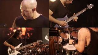 "Dream Theater Instrumedley multi display ""The Dance of Instrumentals"""