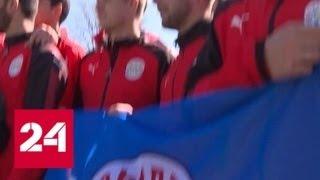 Украина требовала отменить футбольный матч команд Крыма и Турции но игра состоялась Россия 24