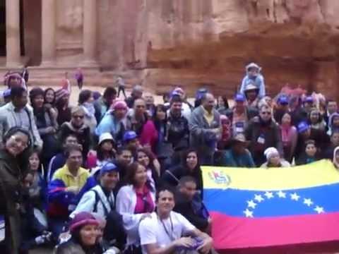 Group tour in Jordan - The Treasury Petra