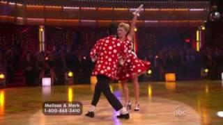 Melissa Joan Hart & Mark Ballas DWTS Wk 2 - Jive (HQ)