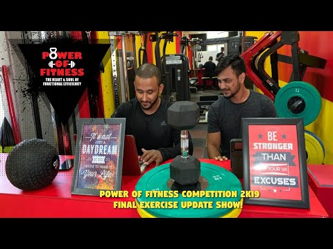 POF 2K19 Fittest of India, Update Show!