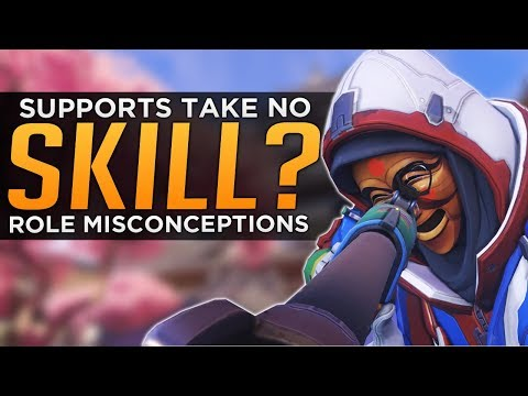 Overwatch: Supports Are NOT Easy - Role Misconceptions