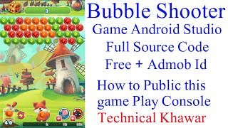 Bubble Shooter Game Full Project Source Code + Native Admob Adds Free by Technical khawar screenshot 2