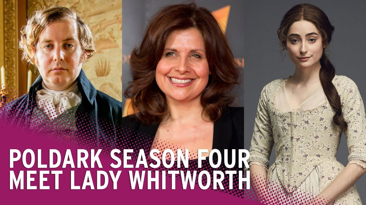 Angus Thongs And Perfect Snogging Cast poldark season 4 | meet new character lady whitworth
