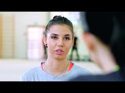 Adidas StellaSport Action Girls׃ Kate Clapp на тренировке у олимпийской чемпионки Алины Макаренко