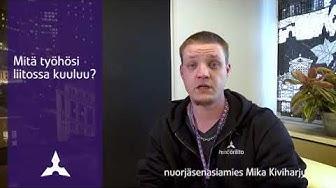 Töissä Insinööriliitossa – nuorjäsenasiamies Mika Kiviharju