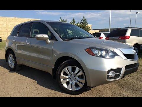 Pre Owned Silver Acura RDX AWD Walk Around Review Wetaskiwin - Pre own acura