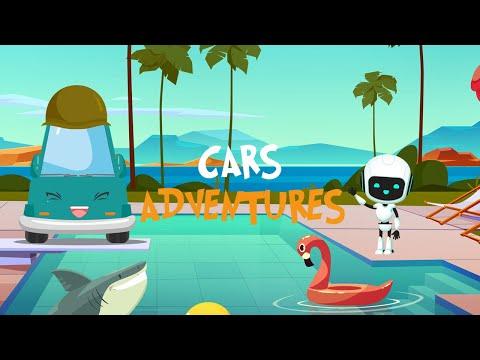 Cars Adventures #12 Meet new friend ROBO BOY - Fun on KidsTV
