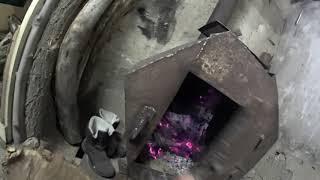 отопление в гараж. печь своими руками