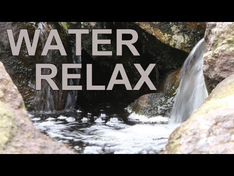 3D NATURE-Soothing Sound of Water-Tranquil Waterfall-Relaxation Meditation-Flowing Dripping-瞑想