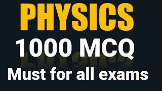 physics 1000 mcq I science mcq pdf I physics mcq I all exams screenshot 1