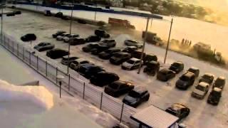 Жестоко.ДТП с участием детей(Все произошло зимой возле Завода произвотство стекл VEKA Видео я списал у Папы на работе с камер видео наблюд..., 2015-07-07T10:25:36.000Z)