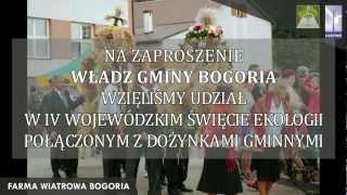 VI Wojewódzkie Święto Ekologii Dożynki Gminy Bogoria - 09.09.2012 r.