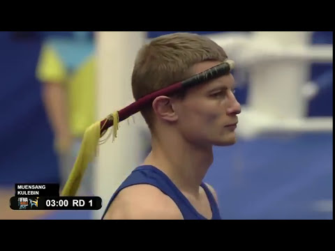 71 kgs Thailand vs Belarus Suppachai Superbon Banchamek Meunsang Vs Belarus Andrei Kulebin IFMA WC