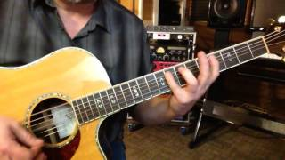 Alternate Tuning CGCGCD# - Key C Blues