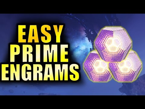 Destiny 2: EASY PRIME ENGRAMS! - Get to 600 Power Faster!   Forsaken