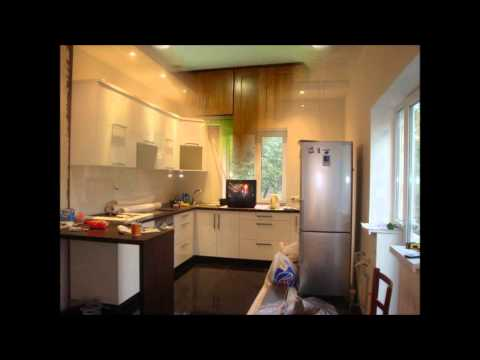 Экспериментируем с цветом стен на кухне