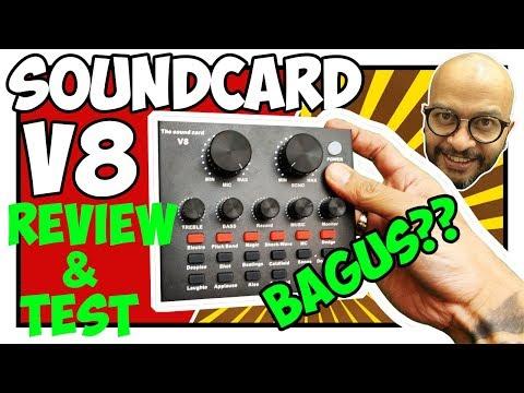 soundcard v8 review, sound card v8