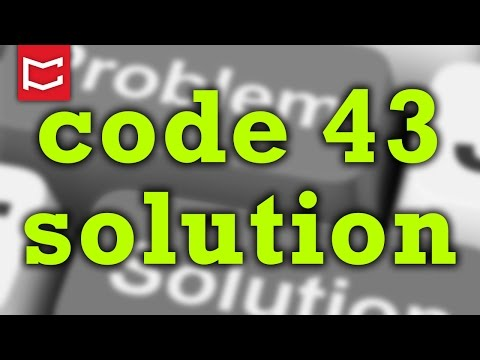 How to Fix Error Code 43 USB [Solved] - YouTube