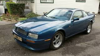 1991 Aston Martin Virage short report and test drive