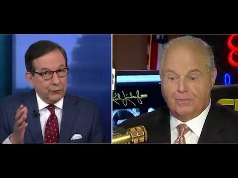 Fox host calls out Rush Limbaugh's national emergency hypocrisy to his face
