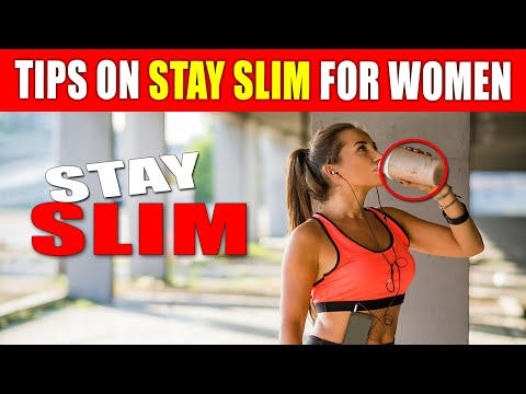 tips-on-how-to-stay-slim-for-women-with-no-working-out.