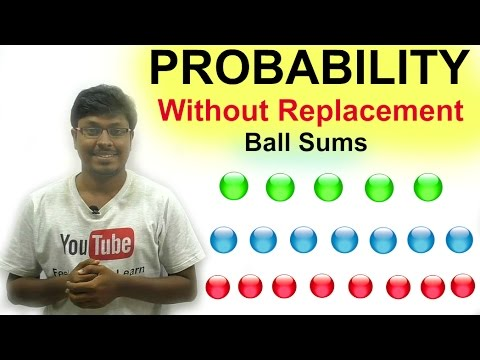 IBPS SO/Payment Banks( Night class Day #42)PROBABILITY - WITHOUT REPLACEMENT