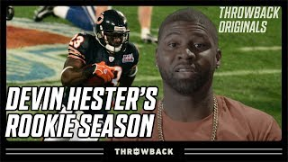 Devin Hester Relives RIDICULOUS Rookie Season! | Throwback Originals