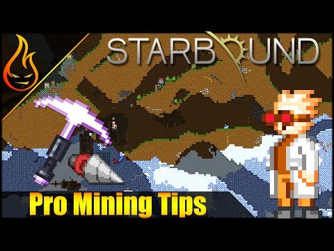 Starbound 1.3 Mining Tips, How to mine fast using a flare and Beam Drill Mech Arm