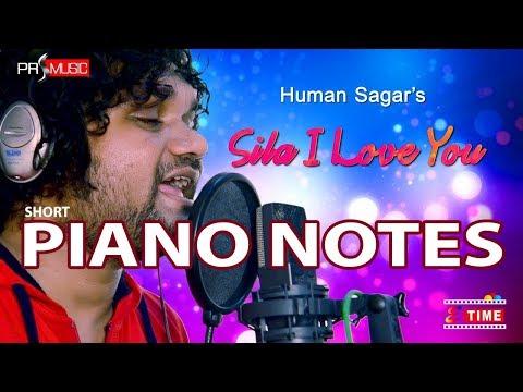 SILA I Love You |Human Sagar | Odia Short Piano Tutorial | PianoNotes4U in