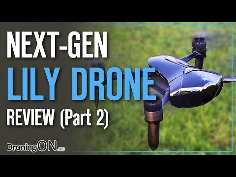 DroningON   Lily Next-Gen Drone Review (Part 2) - Setup, Flight Test, Range & Video Test