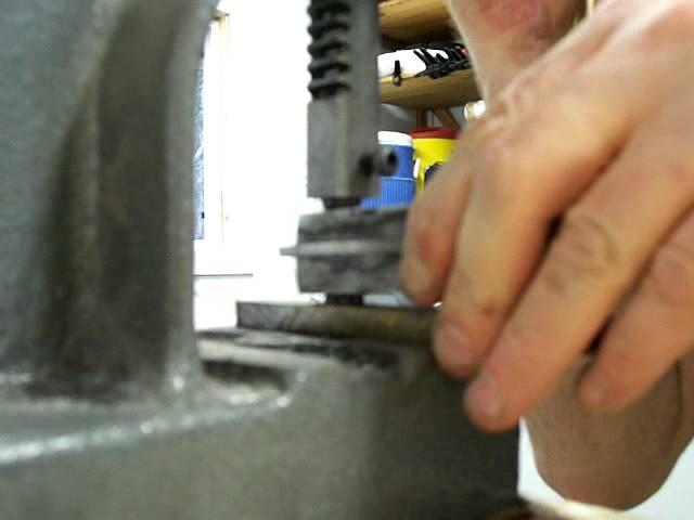Daniel Fairly Knives - Knifemaking - Flaring Tube Hardware