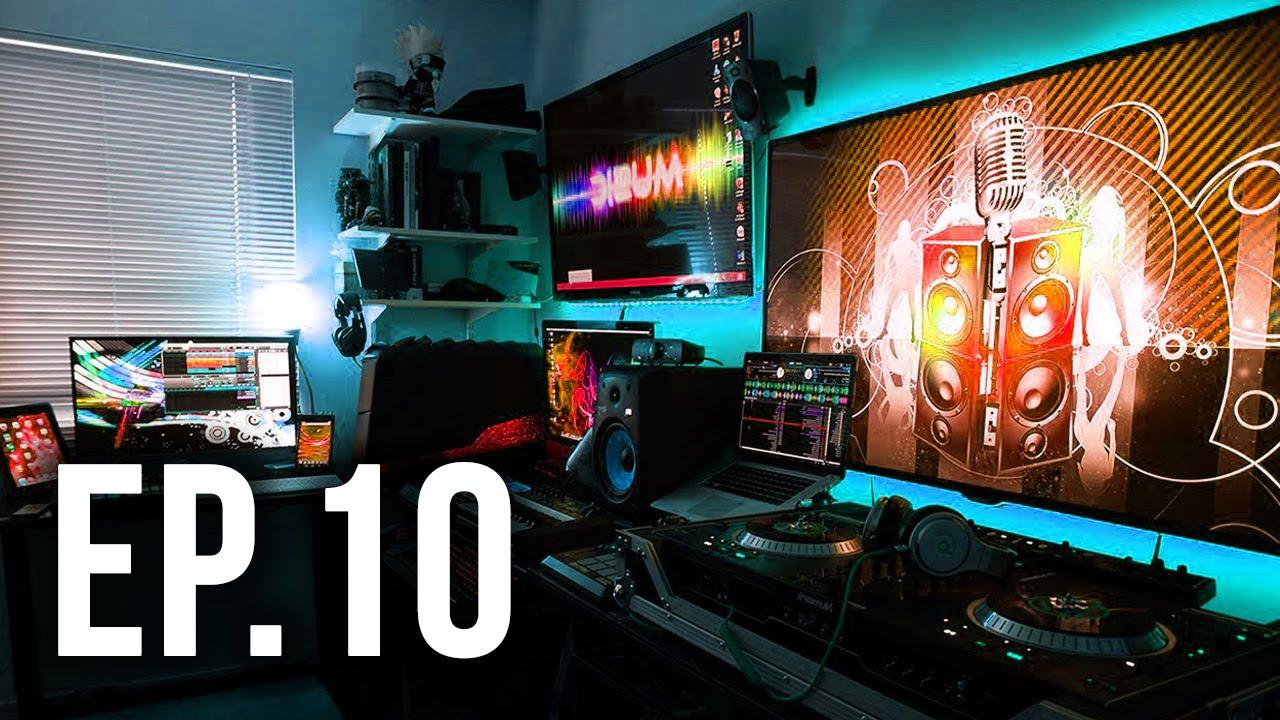 Office Desk Wallpaper Hd Room Tour Project 10 Ft Cazualluk Best Gaming Setups