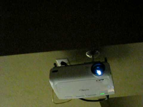 Optoma HD72 lamp or bulb dies - YouTube