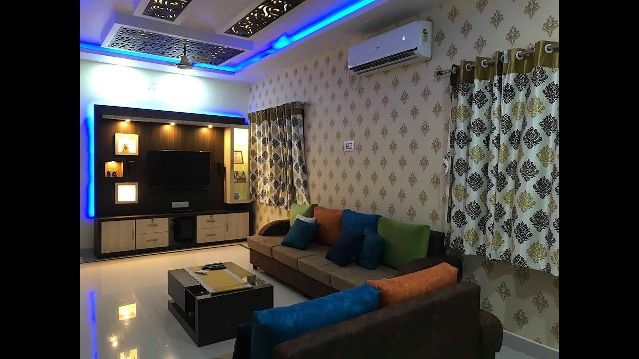20 X 10 Living Hall Room Design 2019 Mdf Jali Ceiling Tv Unit Sofa Design 2019 Youtube