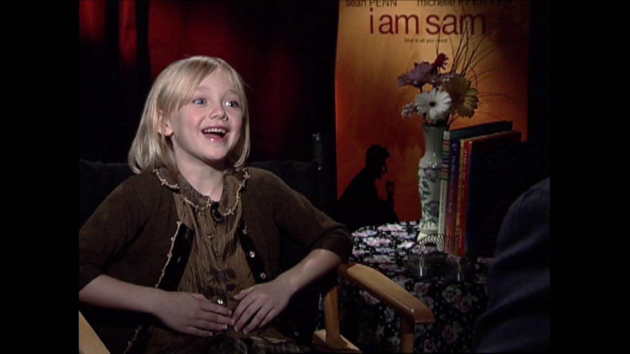 Dakota Fanning, I am Sam, 2001 - YouTube