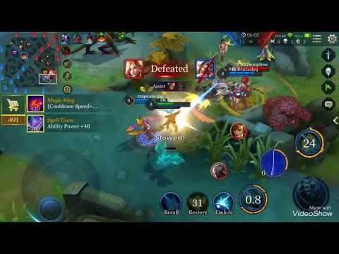 SK Gaming vs Vitality   Poseidon Vex And Pich   Arena of Valor - Tulen Gameplay