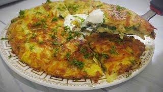 Лепешка из картофеля с начинкой БЫСТРЫЙ рецепт завтрака или ужина Breakfast