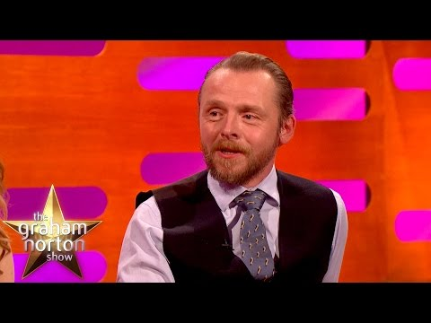 Tom Cruise Pranks Simon Pegg on Mission Impossible 5 Set  The Graham Norton