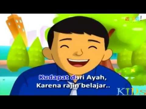 Kring kring ada sepeda - Lirik Lagu Anak Indonesia
