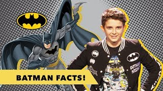 Jett's Batman Facts! | DC Kids