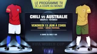 Mexique - Cameroun, Espagne - Pays-Bas... Le programme TV du jour !
