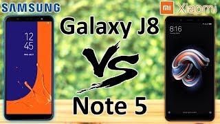 Samsung Galaxy J8 VS Xiaomi Redmi Note 5, сравнение середнячков.